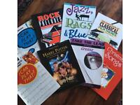 Popular piano sheet music for beginners and intermediates