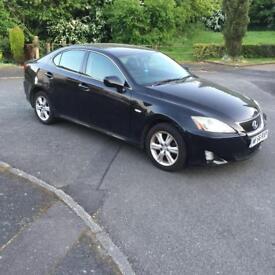 Lexus IS 220d 2.2 TD SE 4 dr 2006 06 PLATE