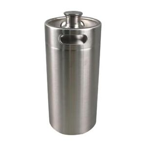 3.6L Stainless Steel Mini Beer Keg  290015
