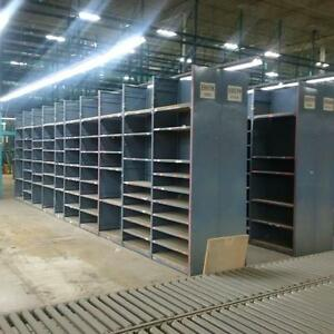 "Ezrect Industrial Shelving Units - 18"" deep x 36"" wide x 9' tall - 100's of units available - Our Prices can't be beat!"