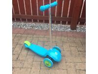 ELC Blue scooter
