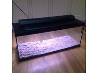 100ltr Aquarium / fishtank with light filter and heater