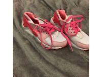 Nike Huarache size 3.5 Pink