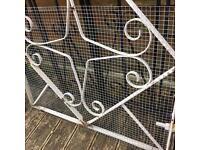 3ft wide dog safe garden gate / metal gate £15