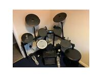 Roland TD-4KX Compact Electronic Drum Kit incl MDS-3C Stand, Roland Cube 15 Amplifier and Drum Stool