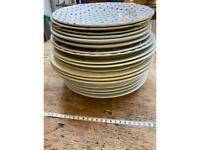 Miscellaneous dinner plates