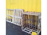 Free pallets - get crafty!