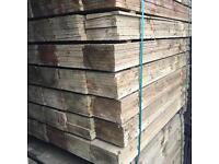 🌲Wooden Tanalised Feather Edge Fencing Pieces/Panels ~ High Quality ~ Various Sizes