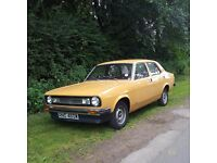 1980 Morris Marina 1700L Saloon -Only 7 Left, Great Daily Driver-