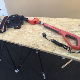 Flymo cordless extending hedge trimmer