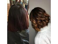 CM Hair qualified and experienced hairdresser, Afro, European, mobile