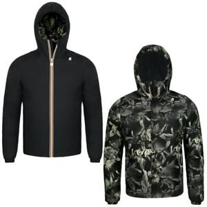 K-Way Reversible Jacket Jack Warm Double Graphic K007FH0 910 (Size 4Y / Black-CamoLeaf Green) - Slim Fit