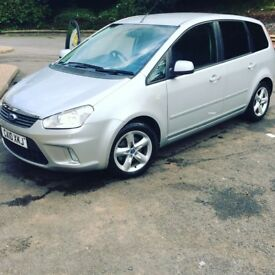 Ford cmax 1.6zetec 10plate
