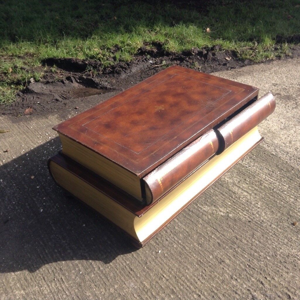 Book Shaped Coffee Table.