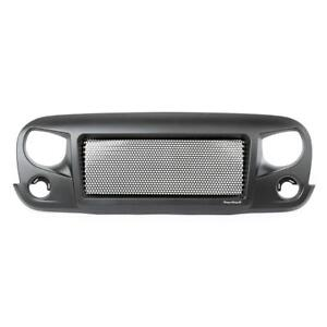 10% OFF Rugged Ridge Spartan Grille in Satin Black | Fits 2007-2018 Jeep Wrangler JK | Free Shipping Canada Wide