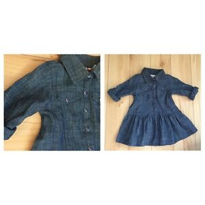 Brand new Jean dress from Babies R Us