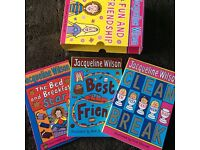 Set of 3 Jacqueline Wilson books with cardboard cover