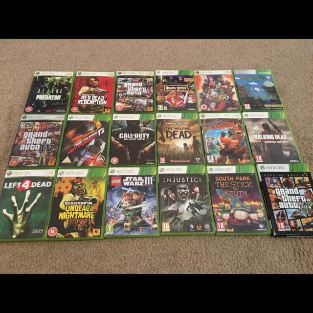 Xbox 360 18 game bundle | in Chatham, Kent | Gumtree