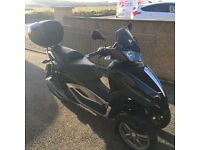 MP3 300 Yourban LT, 2014 model, excellent condition, only 200 miles, FSH. £4495 ono.