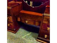 Nice shaped vintage dressing table