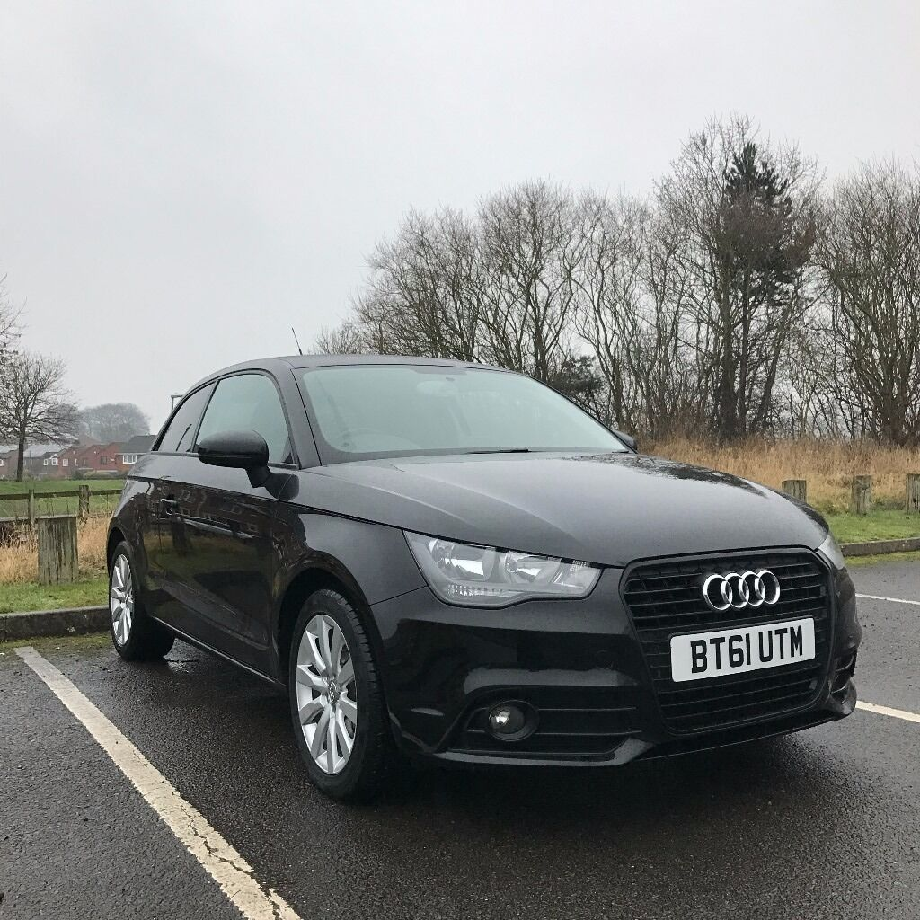 audi a1 1 4 tfsi sport 3 door black 2012 petrol manual sold deposit paid in hucknall. Black Bedroom Furniture Sets. Home Design Ideas