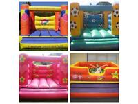 4 Inflatables (3 Bouncy Castles & 1 Ball Pit)