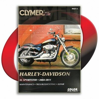 2007-2011 Harley Davidson XL1200N Sportster Nightster Repair Manual Clymer
