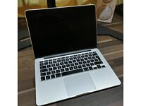 """Apple MacBook Pro 13"""" Retina A1502 2.4GHz Core i5 8GB 128GB (WELL LOOKED AFTER)"""