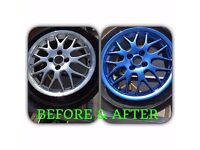 !!!! WINTER SPECIAL - SET OF 4 ALLOY WHEELS REFURBISHED/COLOUR CHANGE FROM £100.00