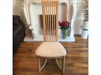 6 Charles Rennie Mackintosh Dining Chairs