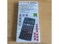 Olympia LCD 8110 Pocket Scientific Calculator Anthracite Brand New In Box