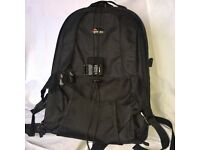 Lowepro camera backpac-excellent condition