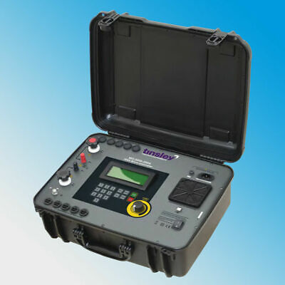 Tinsley Mo-5890-200a Portable Digital Micro-ohmmeter 200 Amp - 0.1 To 1 Dlro
