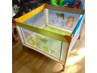 Large Dream and Play Travel Cot / Play Pen