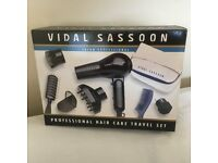 Vidal Sassoon Hair Dryer - Travel Set