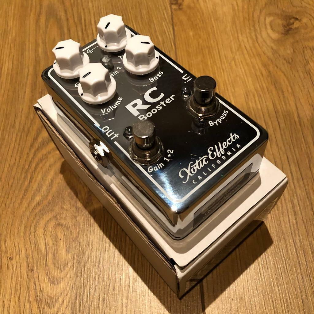 xotic rc booster v2 guitar boost gain overdrive pedal in washington tyne and wear gumtree. Black Bedroom Furniture Sets. Home Design Ideas