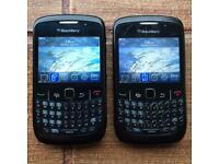 2x BlackBerry Curve 8520 + Extras