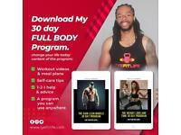 Diet plan & workout videos