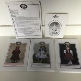 Dolls clothes sewing patterns