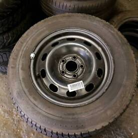 VW Golf Mk4 Spare Wheel With New Michelin Tyre 175 80 14