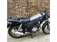 Yamaha ybr custom 125cc cafe racer brat motorcycle