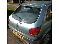 Ford Fiesta Freestyle 2002 1242cc One owner from new. 43000 miles