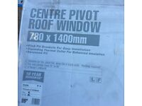 New centre pivot roof window pine / high spec glass 10 yr garanutee
