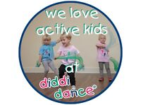 funky preschool dance classes for boys and girls aged 18 months to 4