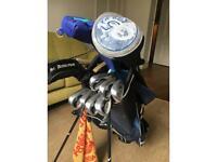 Golf set R/H Calloway bag