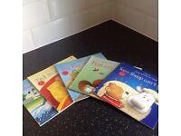 5 Usborne easy to read phonics books for children