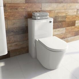 Back to wall toilet Enclosed cistern kit RRP£349