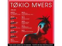 Tokio Myers Edinburgh
