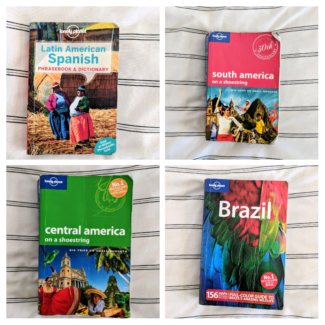 Lonely Planet Central/ South America books