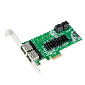 NEW Roll over image to zoom in IOCrest SI-PEX40072 4 Port SATA III or 4 Port eSATA III PCIe